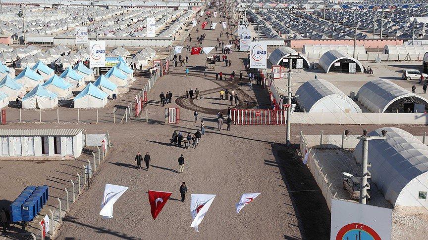 Camps de migrant en Turquie