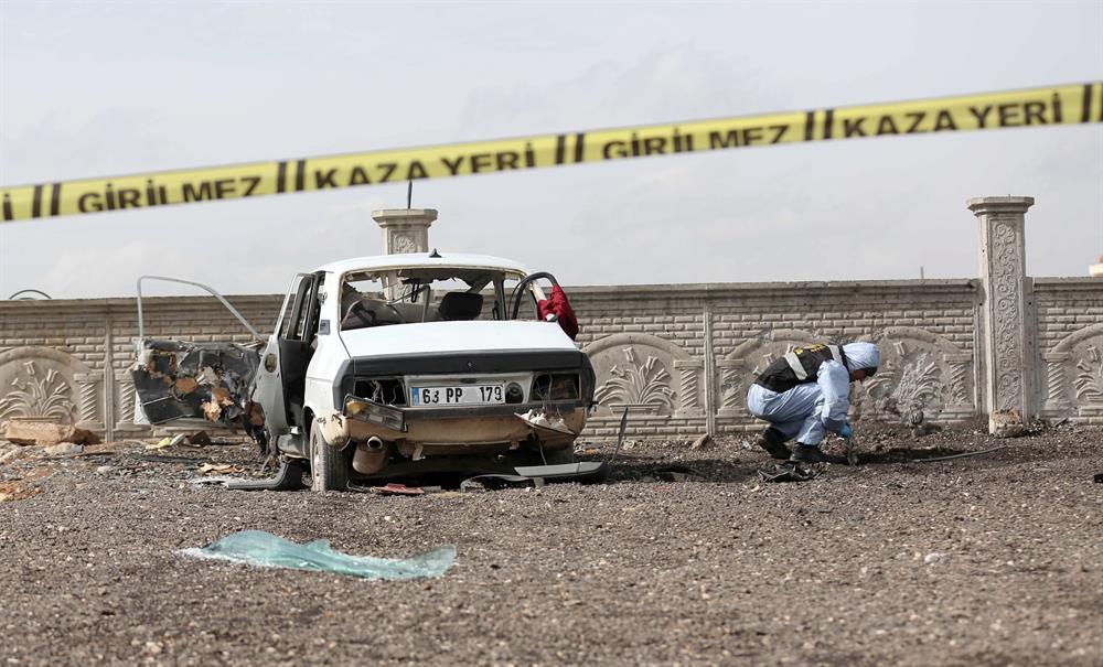 Attentat en Turquie à Sanliurfa à la voiture piégée