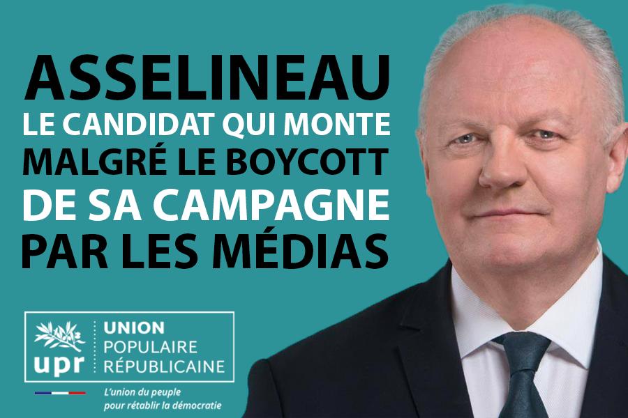 François ASSELINEAU - Union Populaire Républicaine