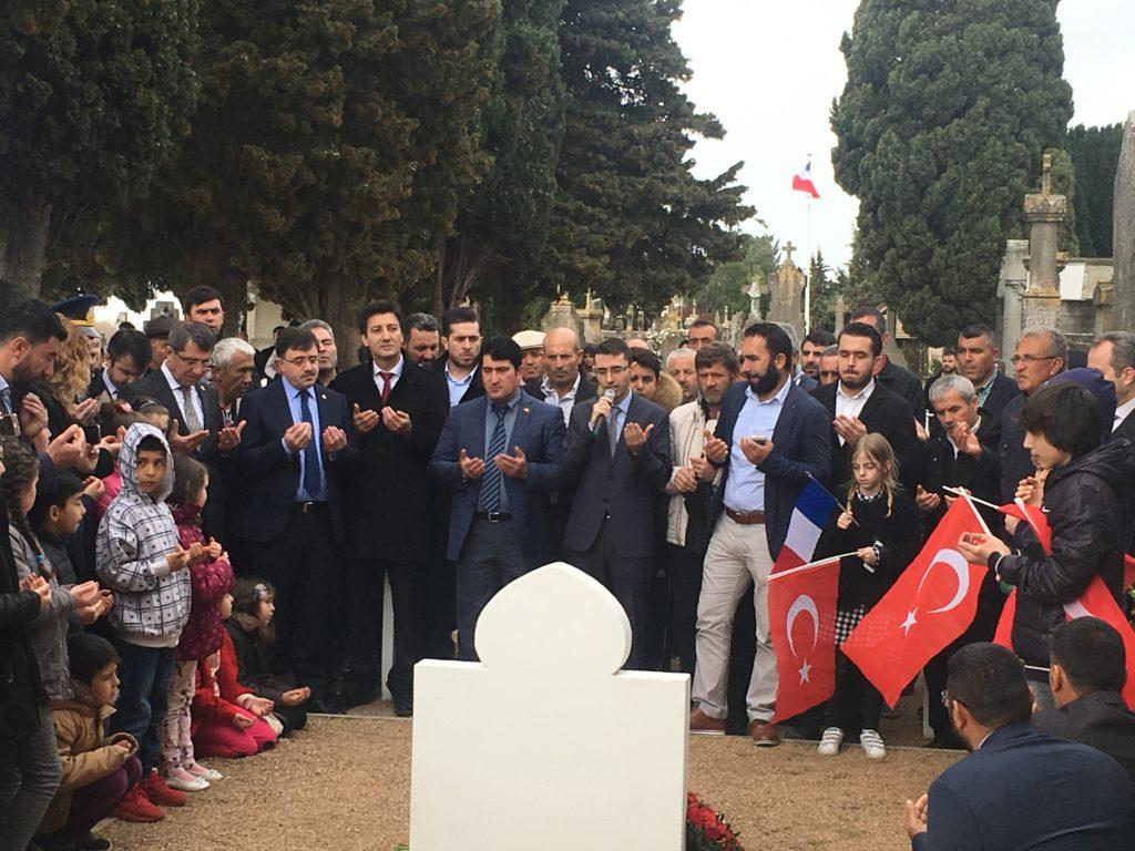 Invocations pour les soldats turcs