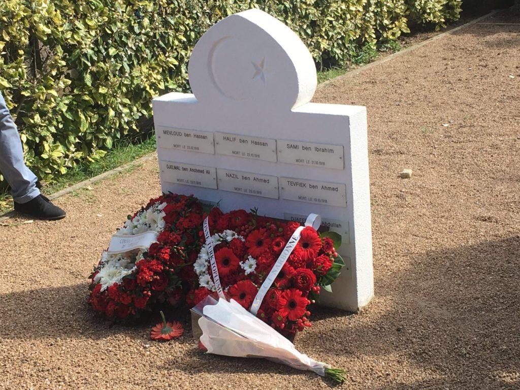Tombe des martyrs ottomans du cimetière Saint Michel de Carcassonne