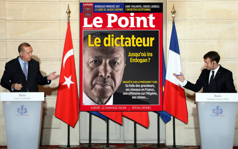 Le point sème la discorde en qualifiant Erdogan de dictateur