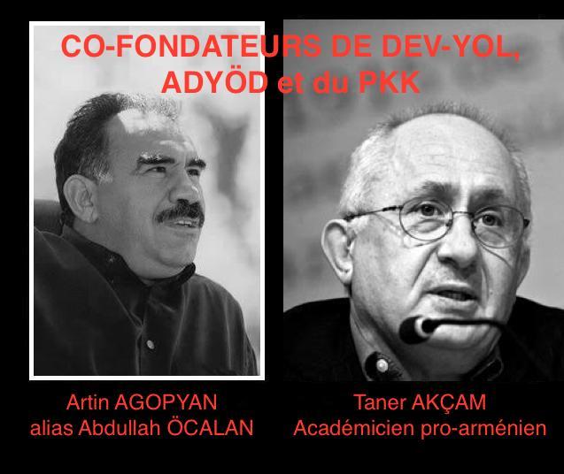 Co-fondateurs du PKK