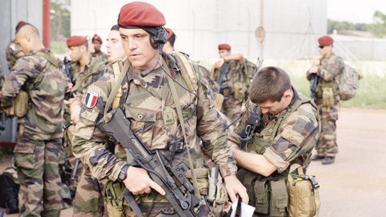 troupes françaises en Syrie