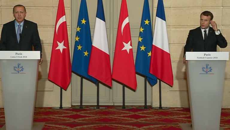 Erdogan insulte macron