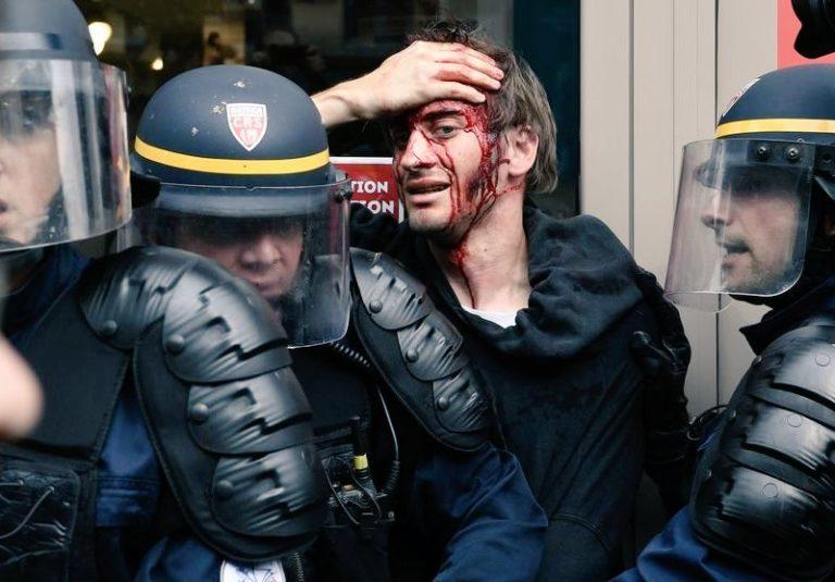 violence policière envers journaliste