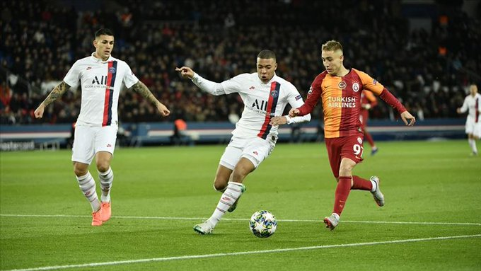 paris écrase galatasaray 5- 0