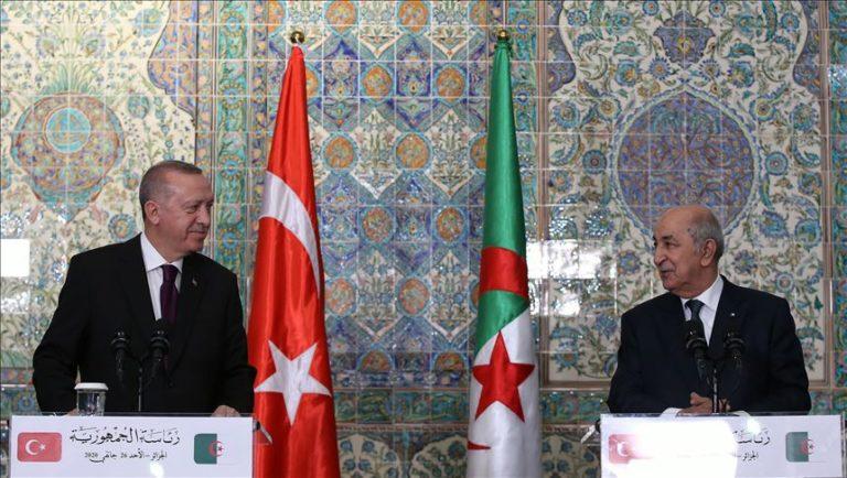 Erdogan en Algérie
