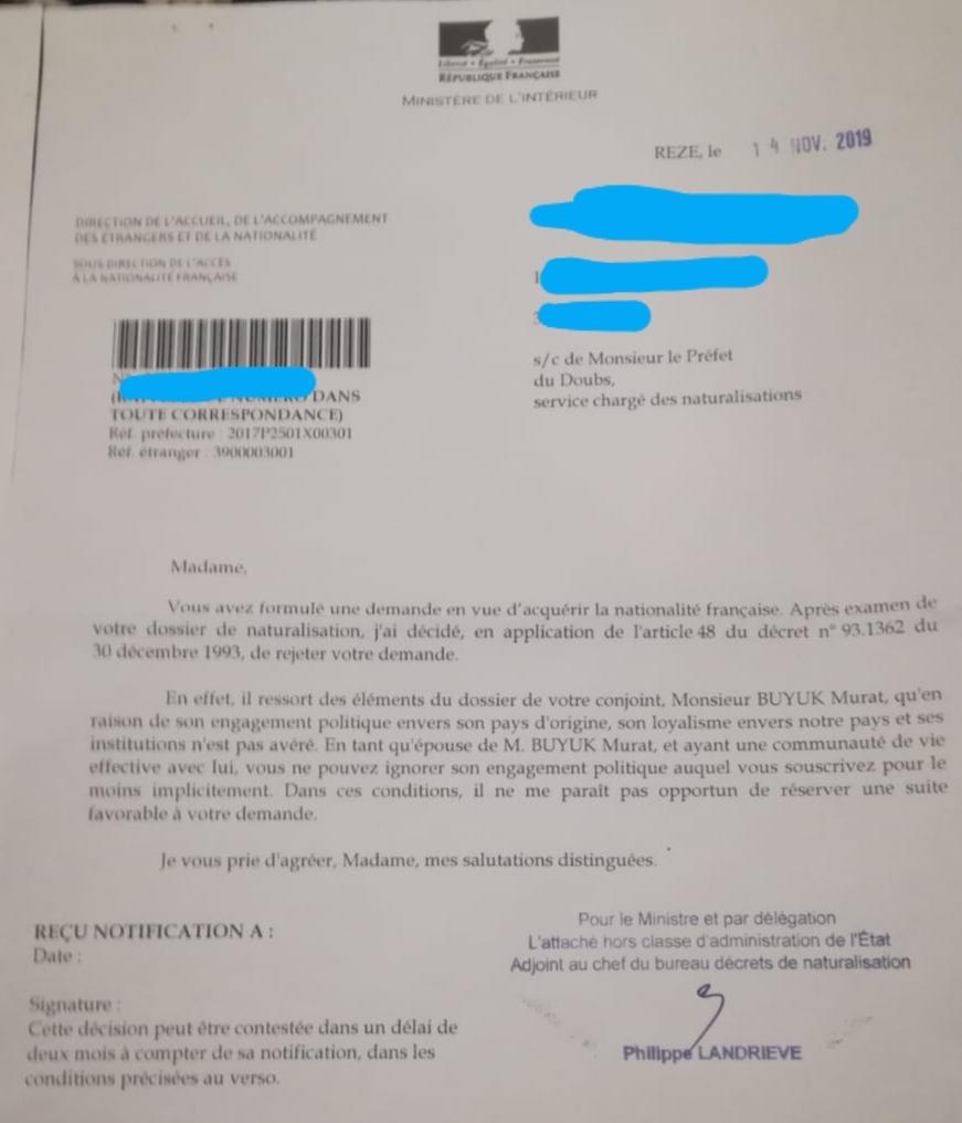 nationalité française politique