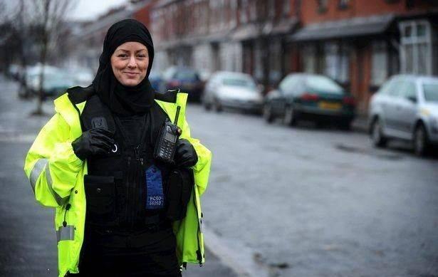 policière musulmane