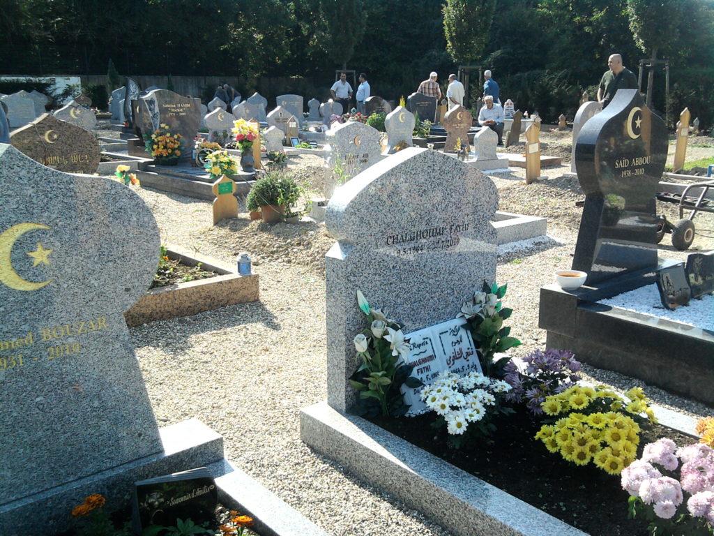 cimetières musulmanes france