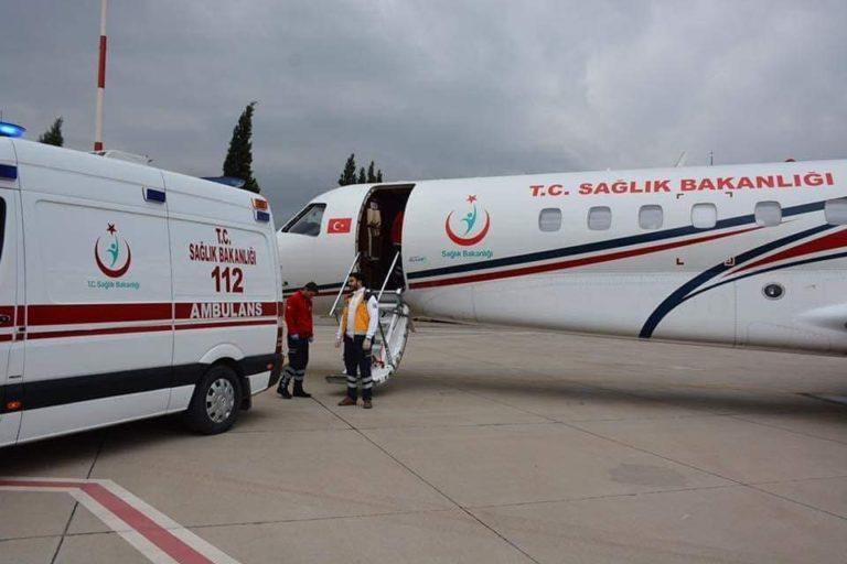 Avion Ambulance Turquie