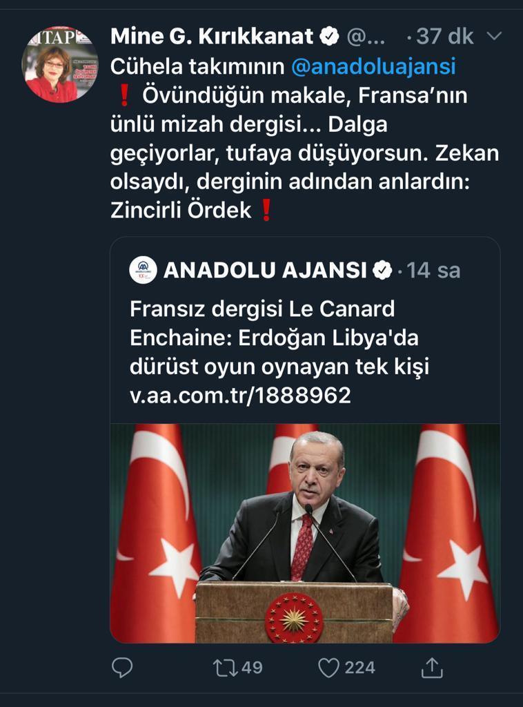 canard Turquie