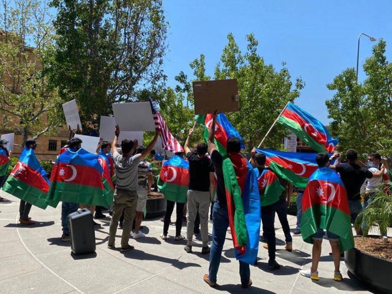 manifestation Azerbaïdjan
