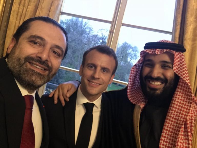 Macron liban