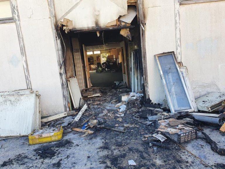 incendie mosquée