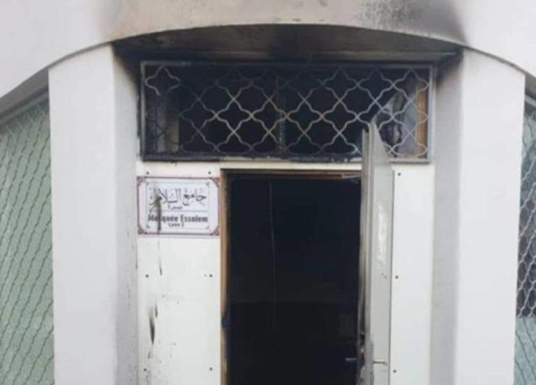 incendie mosquée lyon