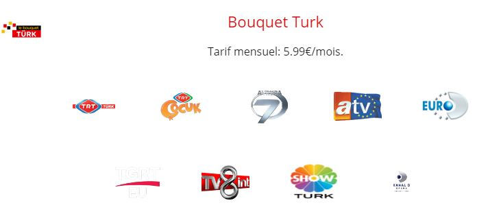 chaines turques freebox