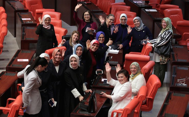 députés voilées turquie