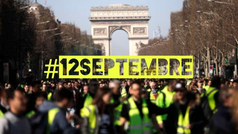12 septembre manifestations