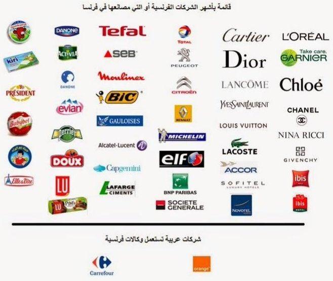 BoycottFrenchProducts dans le monde