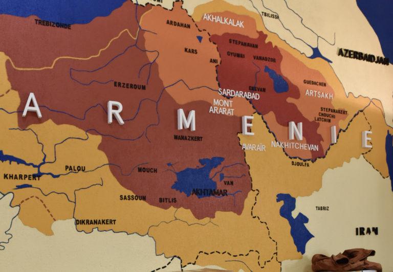 carte Arménie Wauquiez