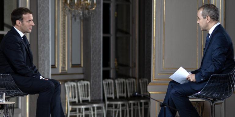 Macron sur Al Jazeera qatar