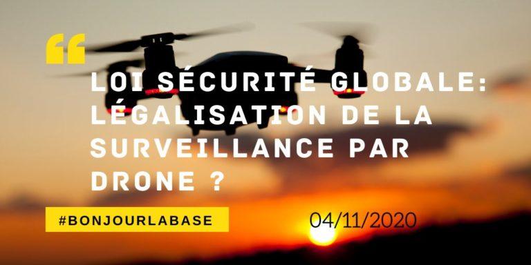 sécurité globale surveillance drones