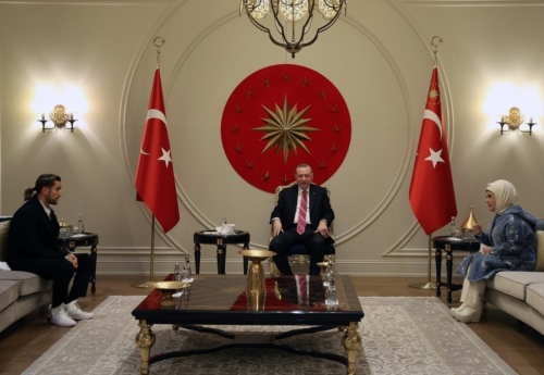 Erdogan et Yazici et Emine