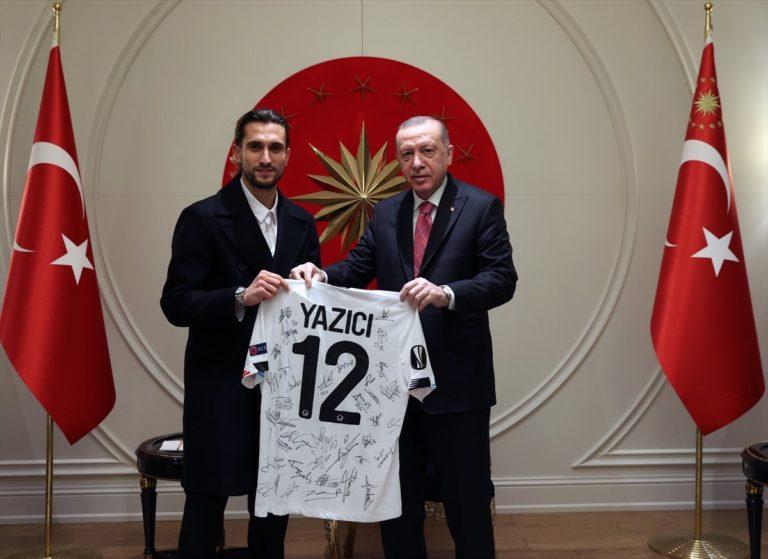 Erdogan rencontre Yusuf Yazici