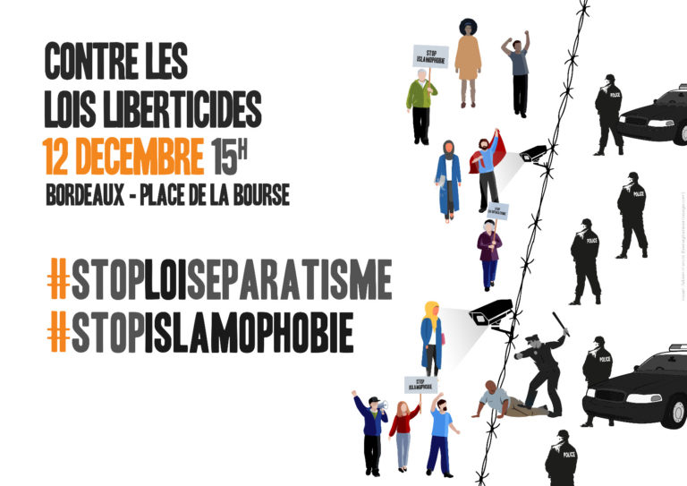Manifestation Bordeaux