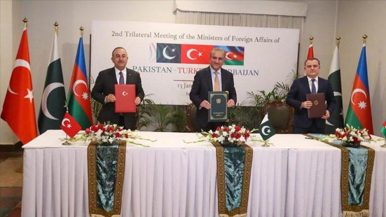 Turquie Azerbaïdjan Pakistan