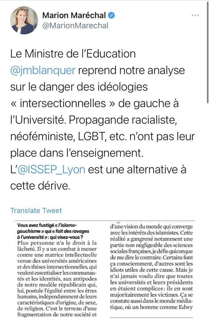 islamo-gauchisme universitaires
