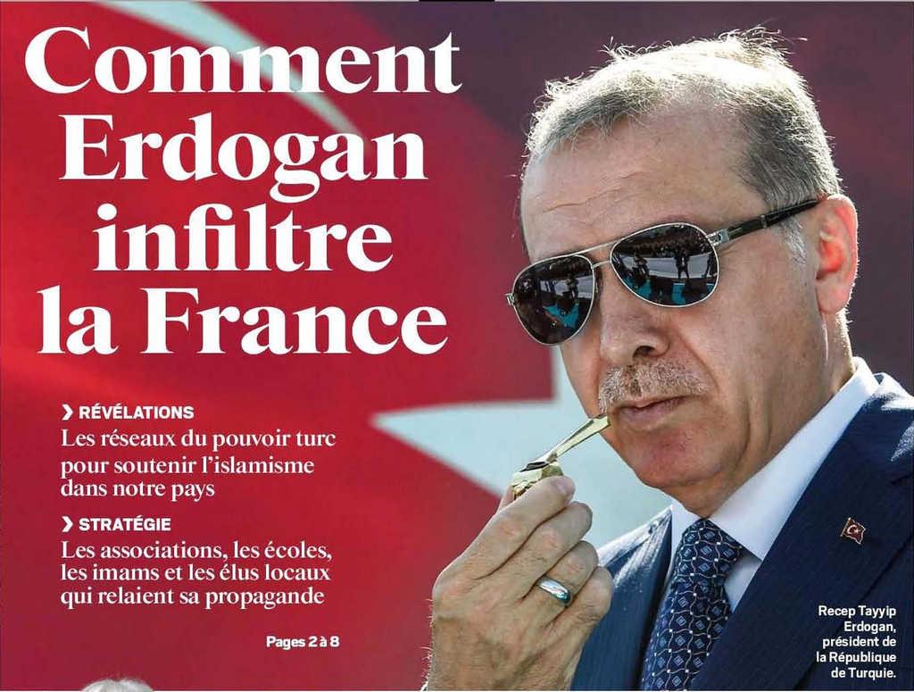 Communauté Turque de France à la Une des journaux