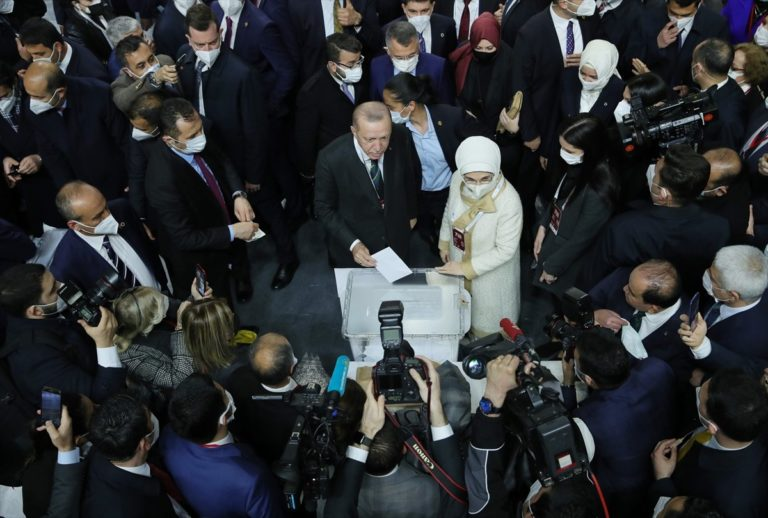 Erdogan président Akparti