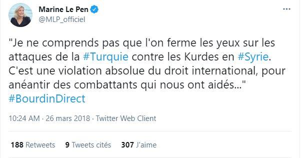 marine le pen anti erdogan