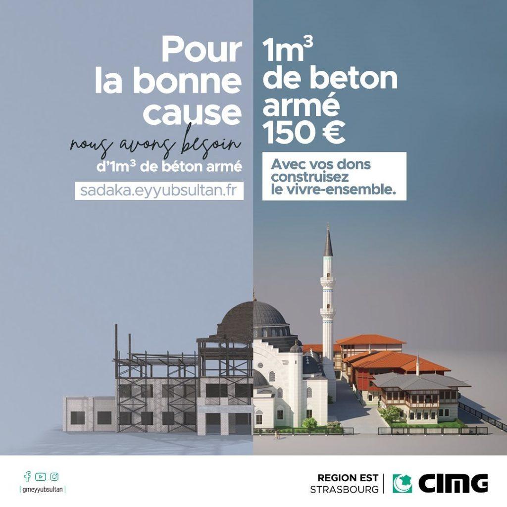 strasbourg mosquée eyyub sultan