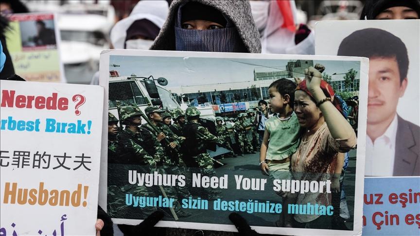 Manifestations Ouïghours en Turquie