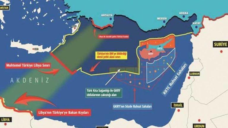 Accord eaux territoriales Turquie Egypte