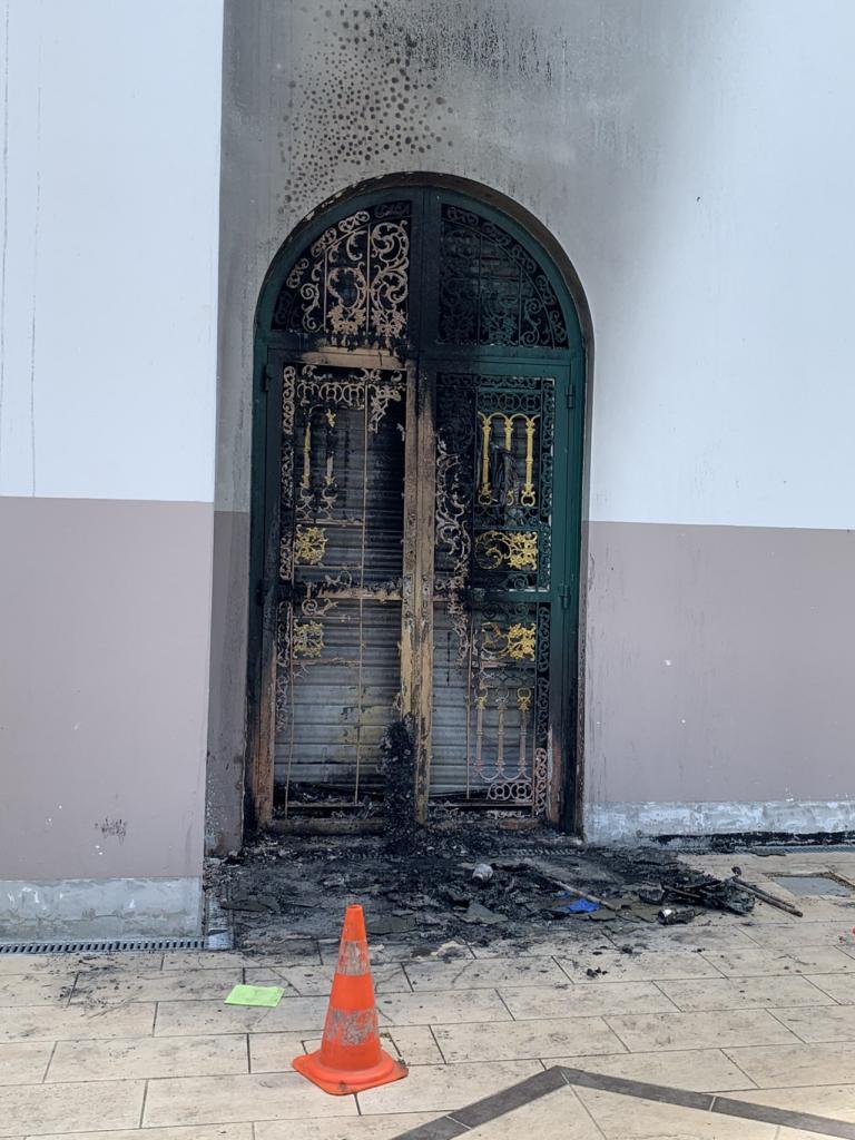 Incendie nantes Mosquée Arrahma