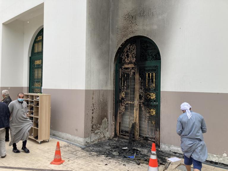 incendie mosquée Arrahma