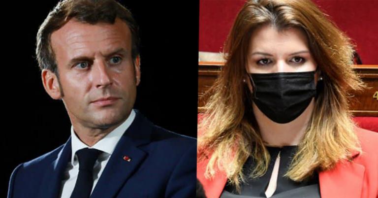 Macron Schiappa recadrage