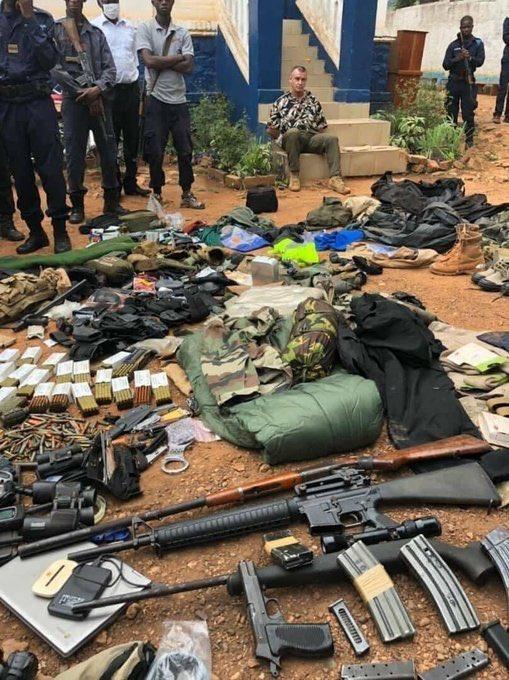 Guignolot Juan Remy armes Centrafrique