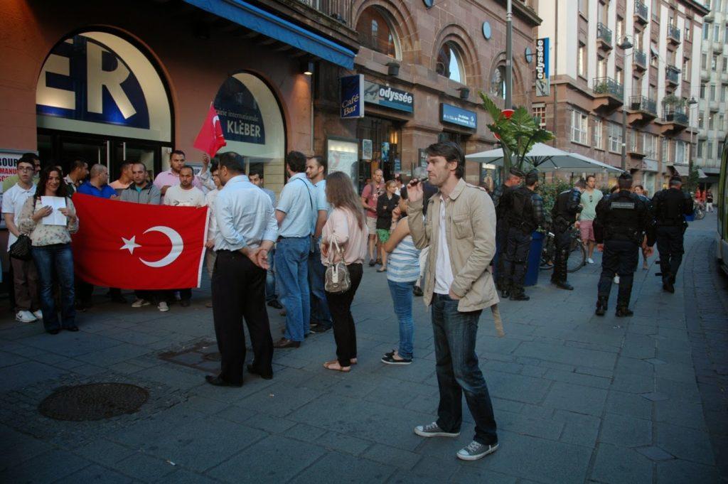 Turcs de France devant l'Odysée