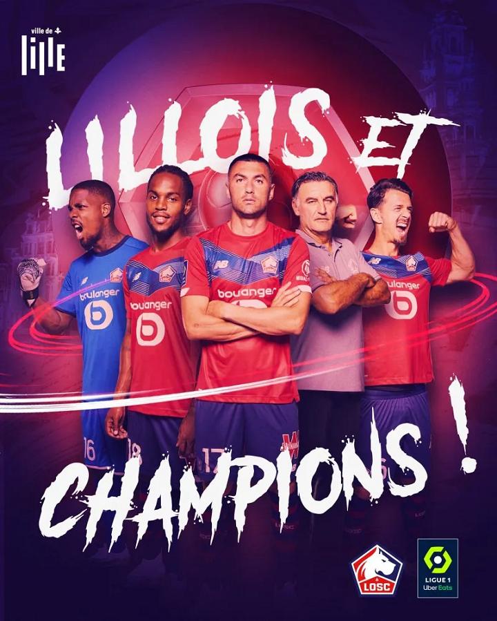Lille champions avec les Turcs