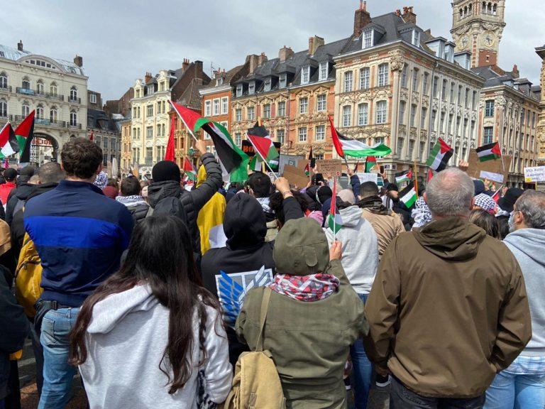 france paris barbes manifestation Palestine