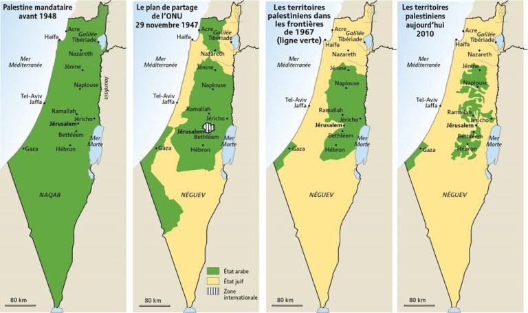 reconnaissances Palestine France