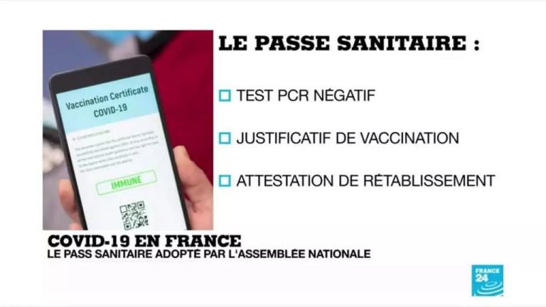 pass sanitaire européen france