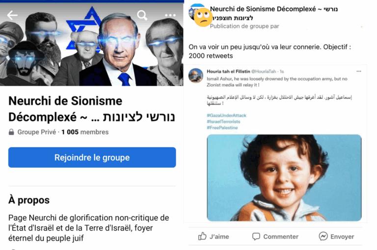 réseaux pro-israéliens en France
