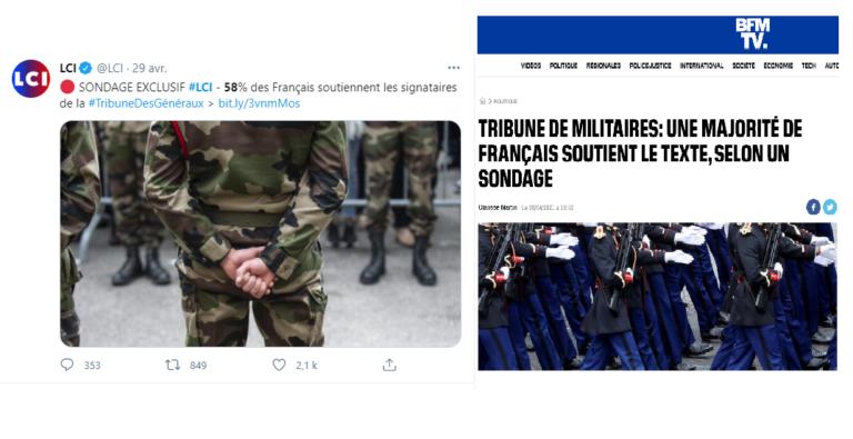 tribunes des militaires français